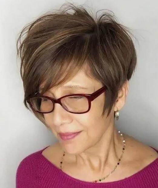 Дорого-дешево – похожие стрижки, а выгладят совсем по-разному или как не испортить образ зрелой даме