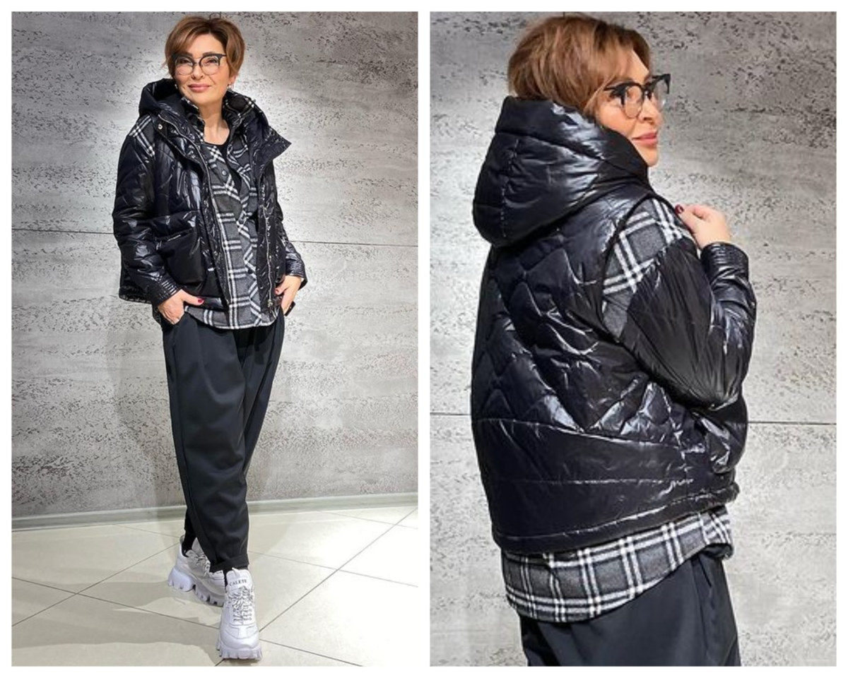 Фото 10 - комплект: куртка - рубашка и жилет.