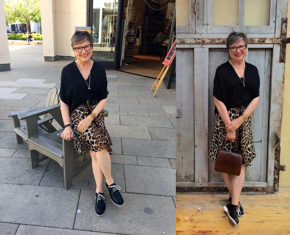 13 образов для женщин 60+, чтобы вам всегда смотрели в след