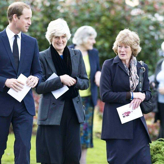 Сестры Дианы сейчас и принц Уильям. (Фото: GLOBAL LOOK PRESS)