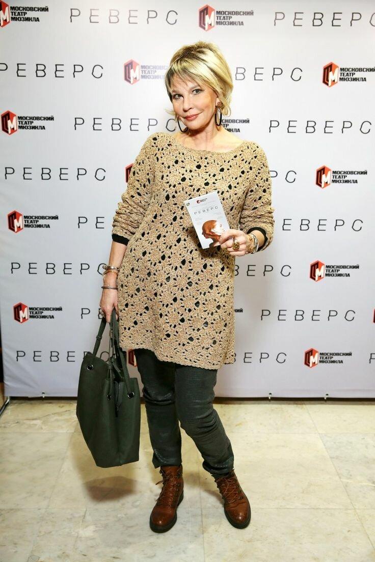 Татьяна Веденеева и её образы совсем не старушки 67 лет