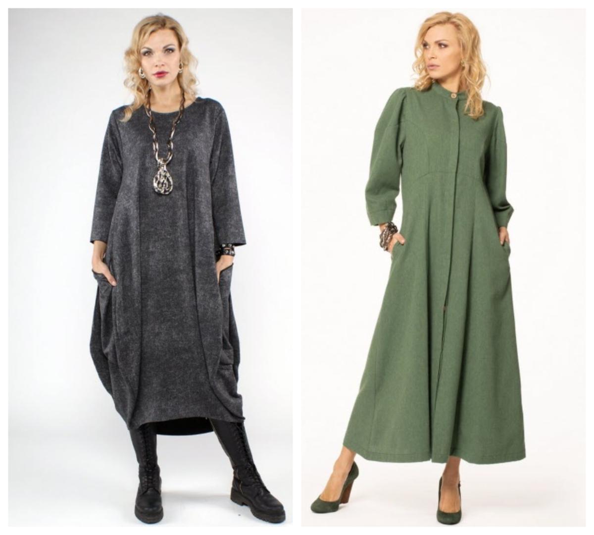 Фото 12, 13 - платья в стиле бохо. ozon.ru