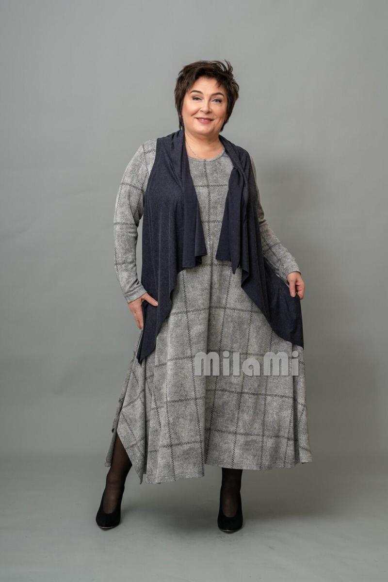 Фото 7 - платье с жилетом в стиле бохо.