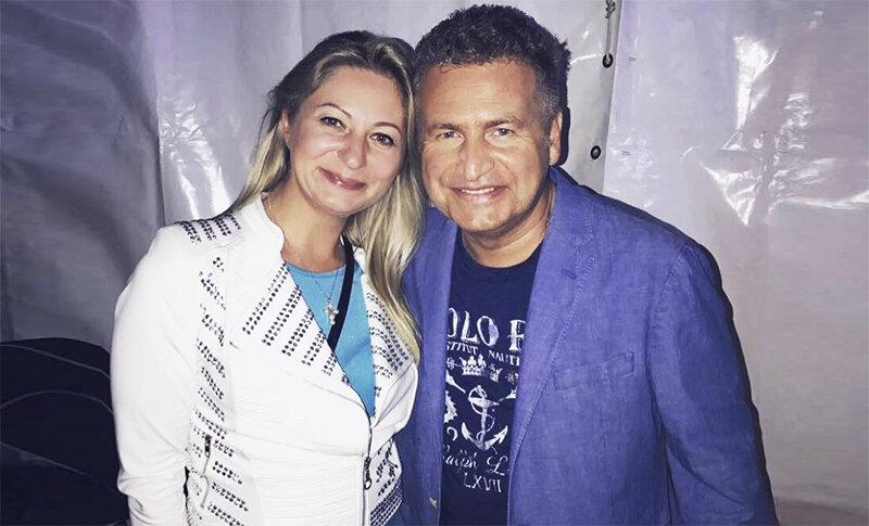Леонид Агутин с Марией Воробьевой. Фото из открытых источников
