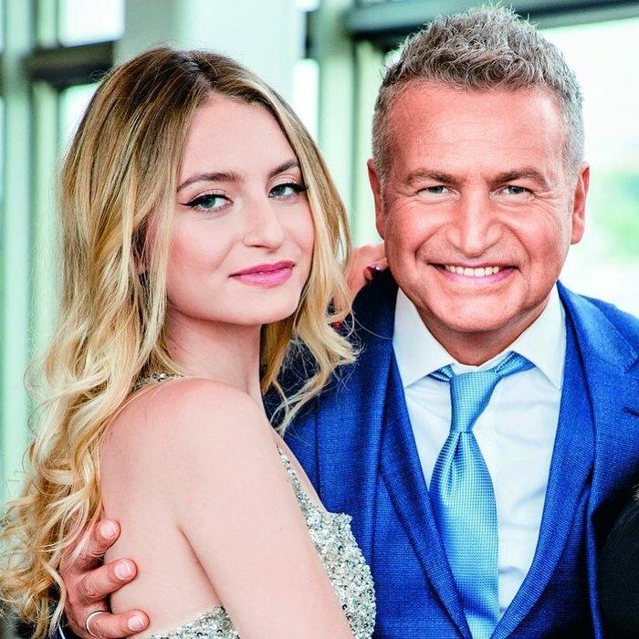 Елизавета Варум с отцом. Фото из открытых источников