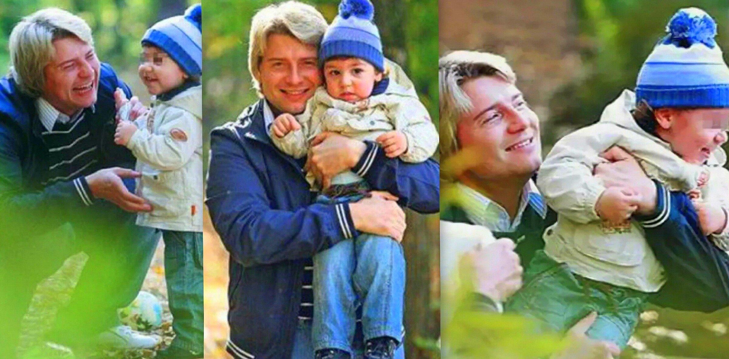 Николай Басков с сыном Брониславом, фото из открытого источника