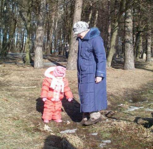 Фото из сети. Валентина с подросшей дочерью