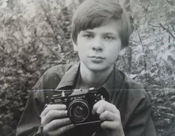 Дмитрий Комаров в детстве, фото из открытого источника