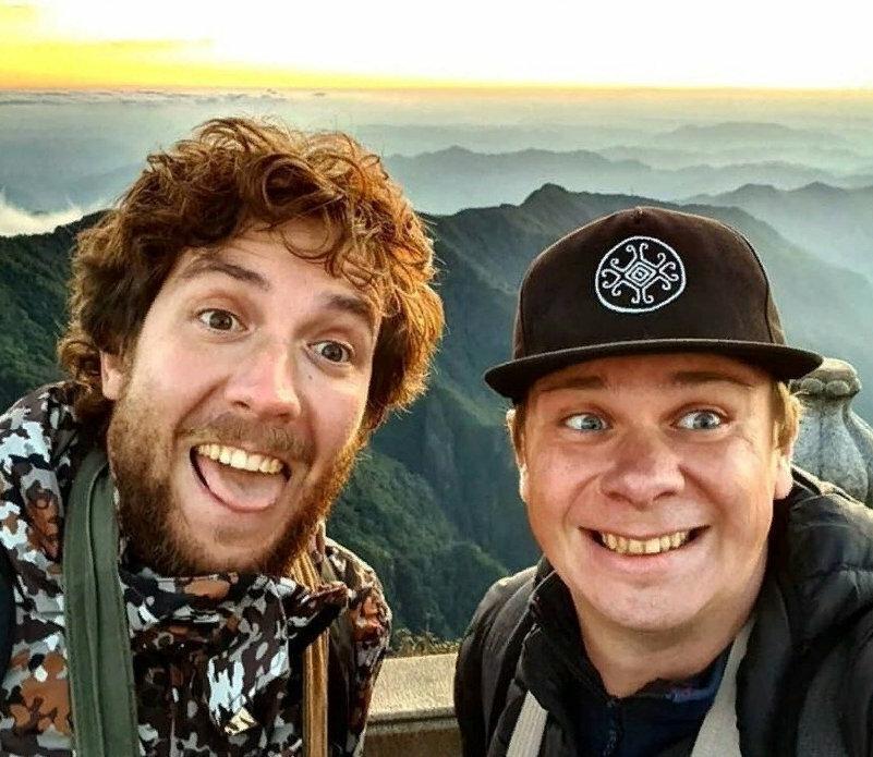Дмитрий Комаров и Александр Дмитриев, фото из открытого источника