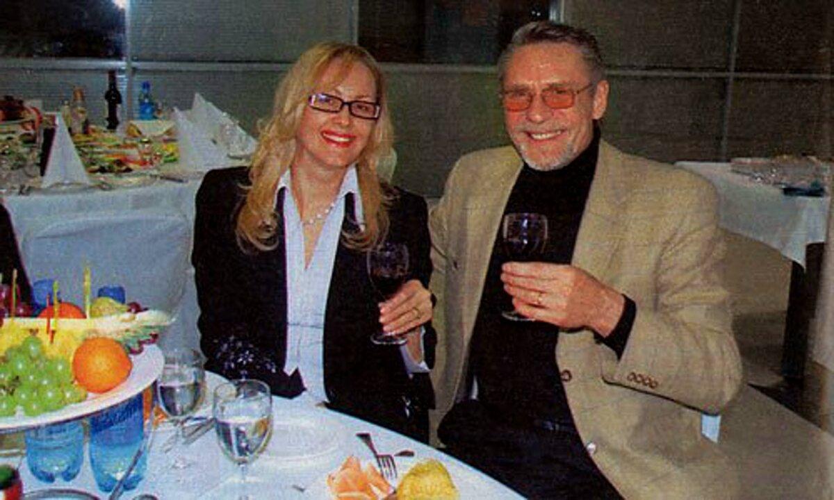 Александр Михайлов и Оксана